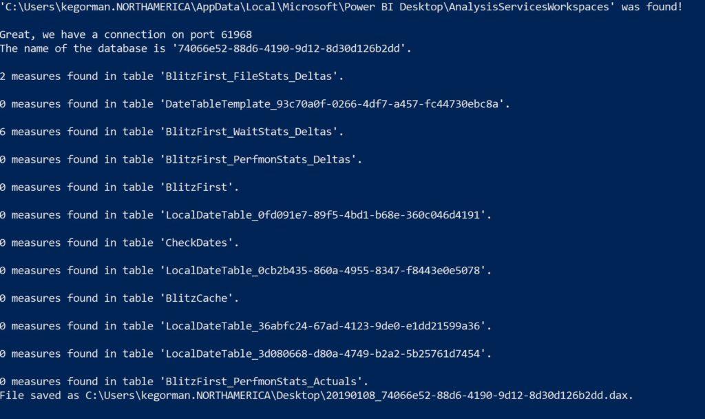 Speeding up Power BI Interface for sp_Blitz/First Responder Kit